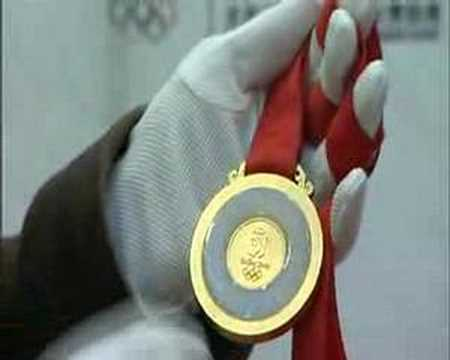Olympic gold comes to the Shanghai Mint