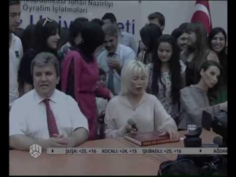Ajda Pekkan Qafqaz Universitetində_ANS TV