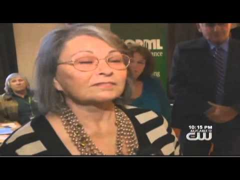 Roseanne Barr Takes Her Presidential Campaign to Oaksterdam!