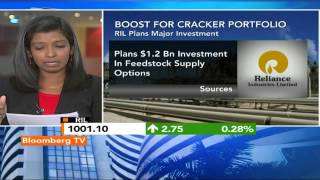 Market Pulse: RIL Inks Deal To Import U.S. Ethane - BLOOMBERGUTV