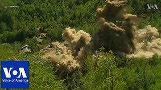 Video of North Korea dismantling nuclear site - VOAVIDEO