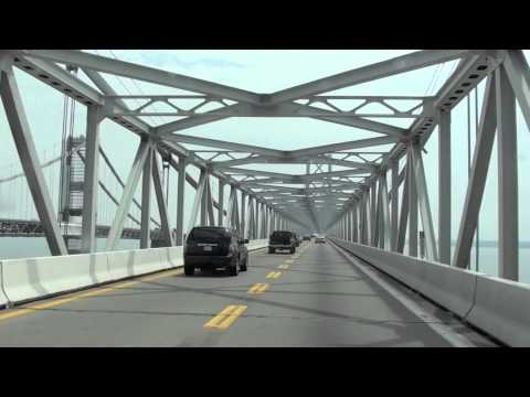 Eastbound On The Chesapeake Bay Bridge - May 2013