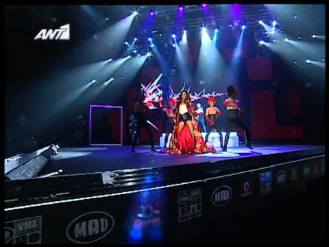 ΝΙΚΟΣ ΓΚΑΝΟΣ & ΚΑΤΕΡΙΝΑ ΣΤΙΚΟΥΔΗ BREAK ME IN THE DARK LIVE @MAD VMA 2012