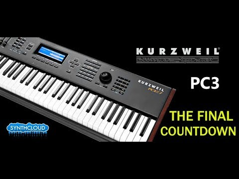 Kurzweil PC3 - The Final Countdown cover by S4K Team space4keys
