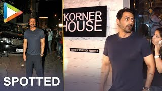 Arjun Rampal With His Friend Spotted At Korner House For Dinner - HUNGAMA