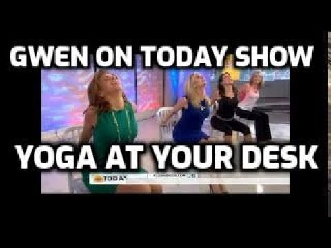 NBC Today - Yoga at the Office with Gwen Lawrence