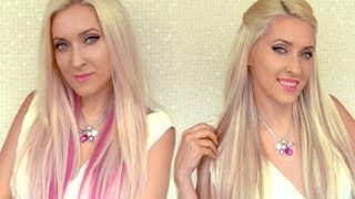 Instant highlights with extensions How to add lowlights to your hair with Glam Time extensions