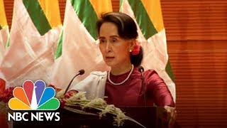 Suu Kyi 'Concerned' At Rohingya Exodus But Wants 'Solid Evidence' Of Violence | NBC News - NBCNEWS