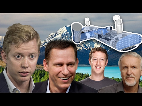 Billionaires Are Preparing For End of The World! Apocalypse Bunkers Built in New Zealand