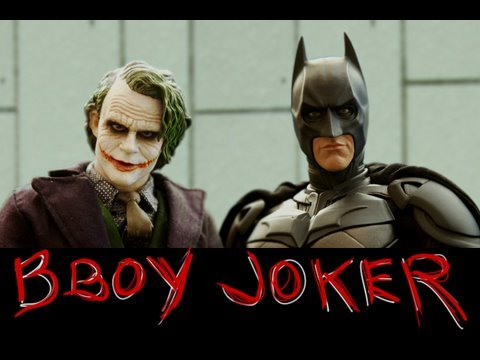 Batman y el Joker en Stop Motion