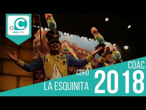La agrupación La esquinita llega al COAC 2018 en la modalidad de Coros. En años anteriores (2017) concursaron en el Teatro Falla como El puzzle, consiguiendo una clasificación en el concurso de Preliminares.
