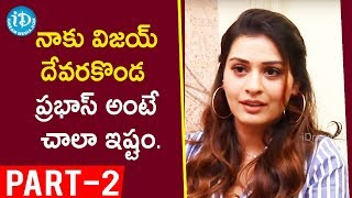 RDX Love Actress Payal Rajput Exclusive Interview Part #2 || Talking Movies With iDream - IDREAMMOVIES