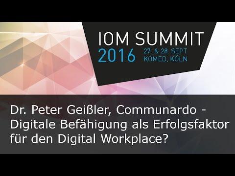 #ioms16 Dr. Peter Geißler, Communardo