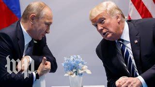 Trump meets with Russian President Vladimir Putin - WASHINGTONPOST
