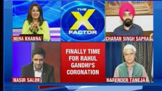 Rahul Gandhi to succeed Sonia Gandhi; Rahul's era officially begins: The X Factor - NEWSXLIVE
