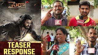 Sye Raa Narasimha Reddy Teaser Public Response | Chiranjeevi | 64thbirthday - IGTELUGU