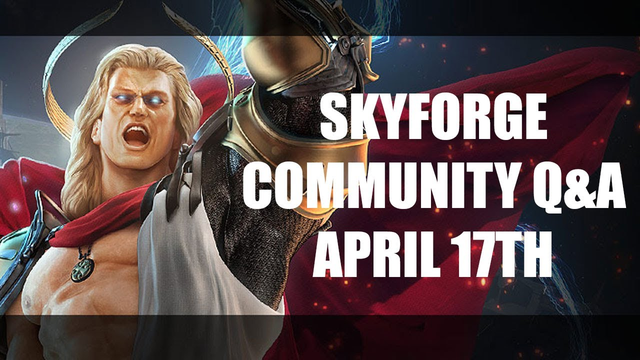 Skyforge Community Q&A - April 17th 2014
