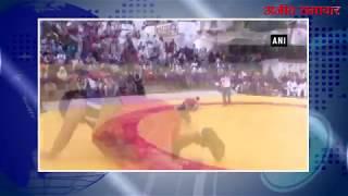 video : वाराणसी : कुश्ती चैंपियनशिप में महिलाओं का दंगल