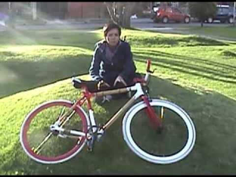 Cómo hacer una bicicleta de bambu