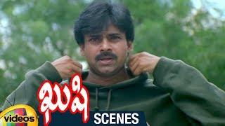 Pawan Kalyan Superb Stylish Fight | Kushi Telugu Movie Scenes | Bhumika | Ali | Mango Videos - MANGOVIDEOS