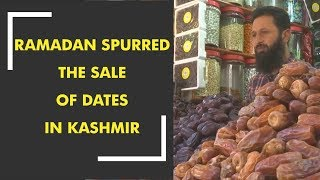 The holy month of Ramadan has spurred the sale of dates in Kashmir - ZEENEWS