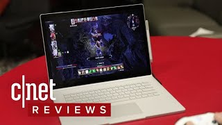 Microsoft's Surface Book 2 review - CNETTV