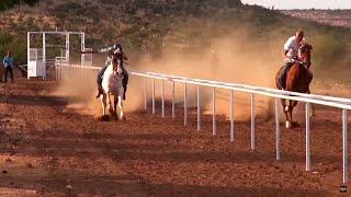 Carreras de caballos en Atitanac (Villanueva, Zacatecas)