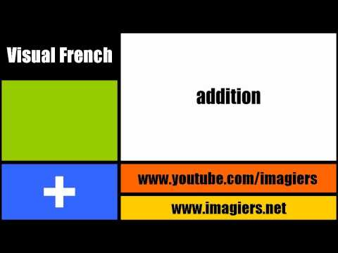 [Visual French lesson] True cognates #2