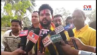 TDP MP Ram Mohan Naidu Visits in Ichchapuram | Comments on YS Jagan | Srikakulam | CVR NEWS - CVRNEWSOFFICIAL