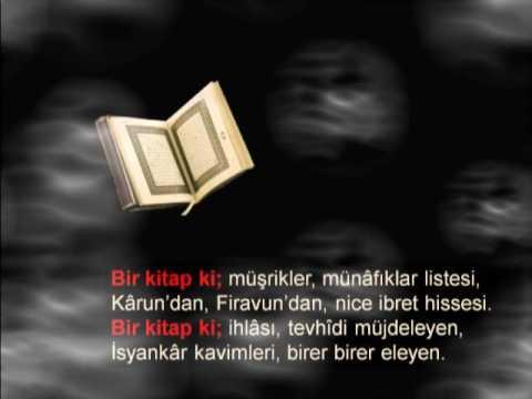 Bir Kitap Ki �iirini sesli dinle, Bir Kitap Ki  �iir videosunu izle,en g�zel,en duygusal �iir videolar� klipleri burada...