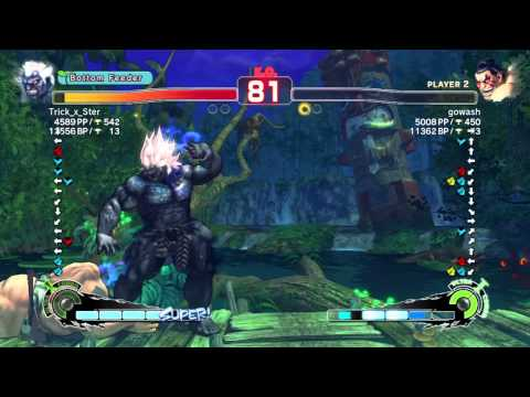 SSF4 AE Ver. 2012: PSN Ranked Matches - 2 of 2 - 1-12-2012
