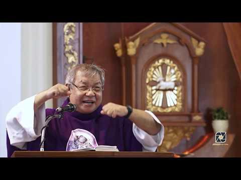 Cha Giuse Lê Quang Uy, giảng lễ Chúa Nhật II mùa chay năm C (17.3.2019) tại nhà thờ Kỳ Đồng, quận 3.