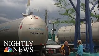 Puerto Rico Experiencing Water Crisis After Hurricane Maria | NBC Nightly News - NBCNEWS