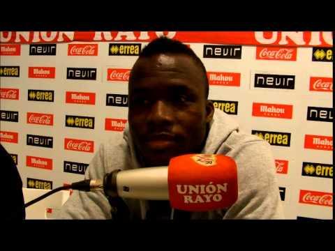 Entrevista a Mohammed Fatau en Unión Rayo