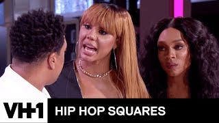 Tamar Braxton Confronts DeRay Davis 'Sneak Peek' | Hip Hop Squares - VH1
