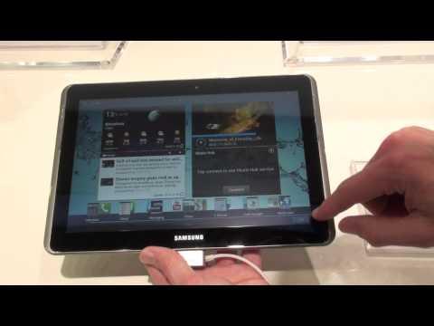 Samsung Galaxy Tab 2 (10.1) demo