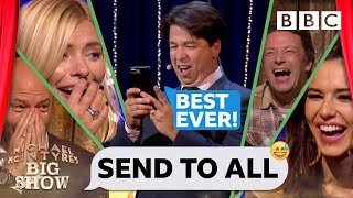 Michael McIntyre's FUNNIEST EVER Send To Allssssss! 😂📱 😱 - BBC