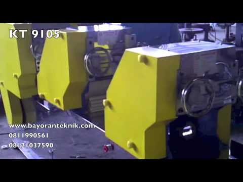Teknologi mesin pembuat mie modern karya Indonesia ( KT 9105)