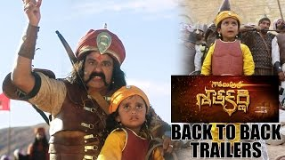 Gautamiputra Satakarni new back to back  trailers | Balakrishna | #GPSK | #Gautamiputrasatakarni - IGTELUGU