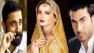 Bollywood News in 1 minute - Fawad Khan, Rekha, Kamal Hassan