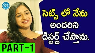 TV Artist Ashika Gopal Padukone Exclusive Interview Part #1 || Soap Stars With Anitha - IDREAMMOVIES