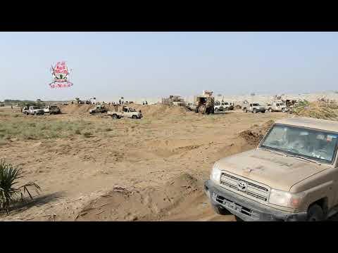 ألوية العمالقة تتقدم نحو مدينة الصالح بالحديدة بعد محاصرة مسلحي مليشيات الحوثي فيها