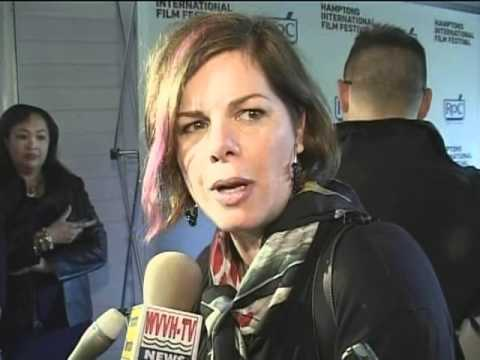 Marcia Gay Harden actress at the Hamptons International Film Festival on VVH-TV