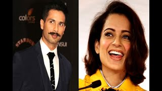 In Graphics: shahid kapoor thanks kangana ranaut for supporting padmavati - ABPNEWSTV