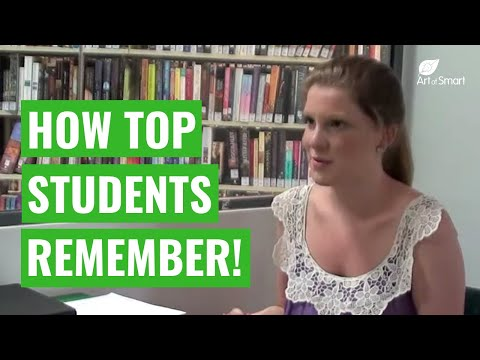 Study Skills: How to Learn &amp; Memorize Study Notes