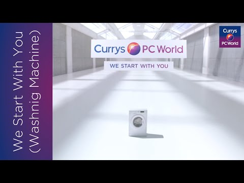 We Start With You: Washing Machine | Currys PC World TV Advert