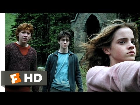 The Feminine Touch Scene - Harry Potter and the Prisoner of Azkaban Movie (2004) - HD