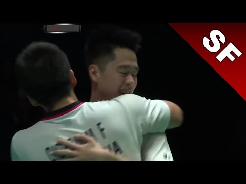 Yonex All England Open 2017 | Badminton SF | Gid/Suk vs Con/Kol [HD]
