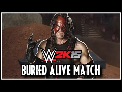 WWE 2K15 - New Match Type - Buried Alive Match | CONCEPT