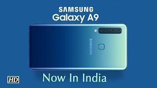 World's first 4-rear camera ,Samsung Galaxy A9 launched in India - IANSLIVE